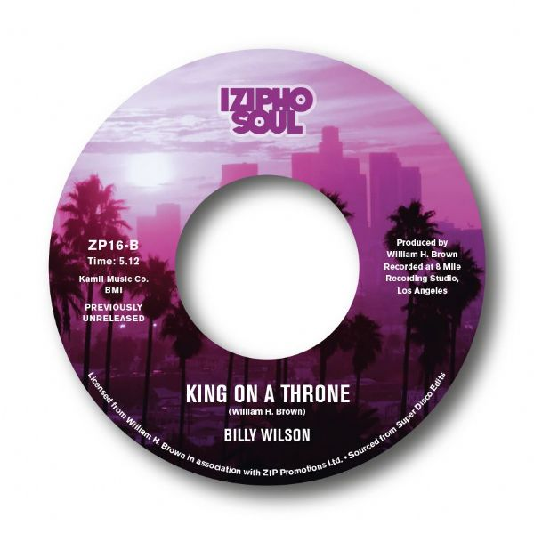 BILLY WILSON - I LIKE IT / KING ON A THRONE